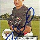 2007 Topps '52 Romulo Sanchez Autograph