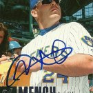 2006 Upper Deck Update Kevin Mench Autograph