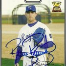 2008 Topps Series 2 Gold Brian Bannister Autograph