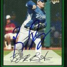 2007 Bowman Draft Billy Butler Autograph