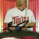 2005 Upper Deck Reflections Garrett Jones Autograph