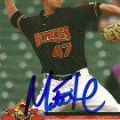 2010 Choice Red Wings Matt Fox Autograph