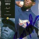 2000 Victory Ramon Ortiz Autograph