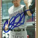 2007 Upper Deck First Edition Chad Tracy Autograph