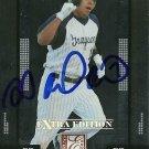 2008 Donruss Extra Elite Edition J.D. Alfaro Autograph