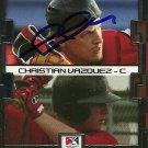 2008 Tristar Prospects Plus Tim Federowicz/Christian Vazquez Autograph