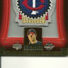2003 Upper Deck Sweet Beginnings Lew Ford Patch Card