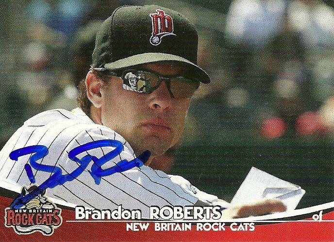 2009 Grandstand Rock Cats Brandon Roberts Autograph