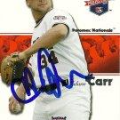 2008 Tristar Projections Adam Carr Autograph