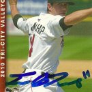 2010 Multi Ad Sports Valley Cats Travis Blankenship Autograph
