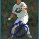 2007 Bowman Draft Chrome Collin Balester Autograph