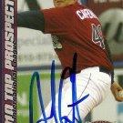 2010 Choice International League Top Prospects Andrew Carpenter Autograph