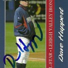 2010 Choice International League All-Stars Dave Huppert Autograph