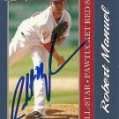 2010 Choice International League All-Star Robert Manuel Autograph