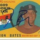 2009 Topps Heritage Aaron Bates Autograph