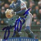 2002 Fleer Michael Barrett Autograph