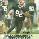 Alex Carrington Autographed 8.5x11 Photo