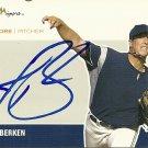 2007 Just Autographs Jason Berken Autograph