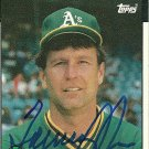 1986 Topps Tommy John Autograph