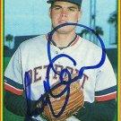 1990 Bowman Scott Aldred Autograph