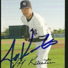 2007 Topps Update Jeff Karstens Autograph