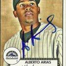 2007 Topps '52 Alberto Arias Autograph