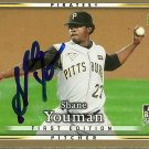 2007 Upper Deck First Edition Shane Youman Autograph