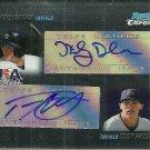 2010 Bowman Chrome Nick Delmonico/Tony Wolters Certified Dual Autograph