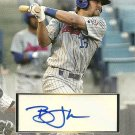 2010 Topps Pro Debut Series 2 Brett Jackson Certified Autograph