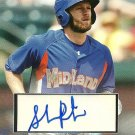 2010 Topps Pro Debut Series 2 Shane Peterson Blue Bordered Certified Autograph