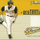 2006 Tristar Prospects Plus Evan Longoria Game-Used Jersey Card