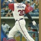 2010 Topps Pro Debut Gold Border Freddie Freeman