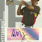 2008 Topps Co-Signers Nyjer Morgan Certified Autograph