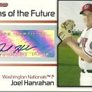 2008 Bowman Signs of the Future Joel Hanrahan Certified Autograph