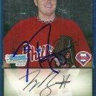 2009 Bowman Chrome Tyson Brummett Autograph