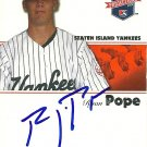 2008 Tristar Projections Ryan Pope Autograph