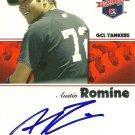2008 Tristar Projections Austin Romine Autograph