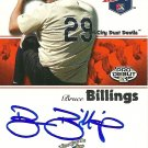 2008 Tristar Projections Bruce Billings Autograph