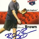 2008 Tristar Projections Brooks Brown Autograph