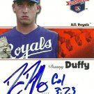 2008 Tristar Projections Danny Duffy Autograph