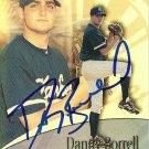 2001 Topps Gold Label Danny Borrell Autograph