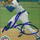 1990 Upper Deck Derrick May Autograph