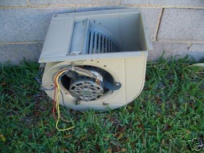 Furnace fan blower assemblies for Central heat and air blower motor