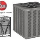RHEEM 13 SEER 5TON CENTRAL AIR CONDITIONING CONDENSING UNIT AND EVAPORATOR 410A