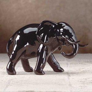 Black Lacquered Elephant