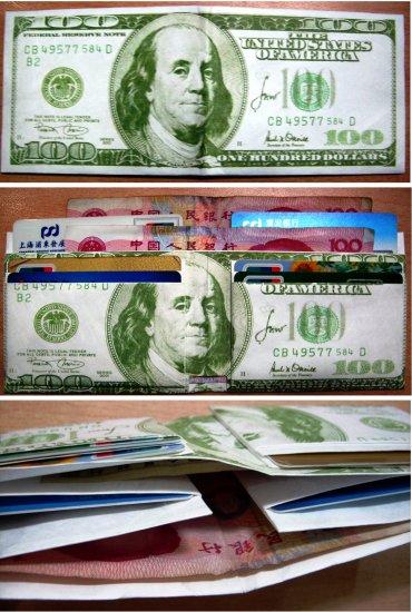 Environmental Friendly Tyvek 100 USD  Wallet