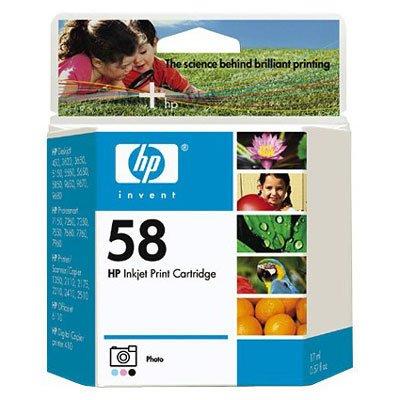 HP-58 Color Inkjet Print Cartridge