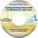 Gateway M250-E Drivers DVD For Windows, XP, Vista, 7 & 8