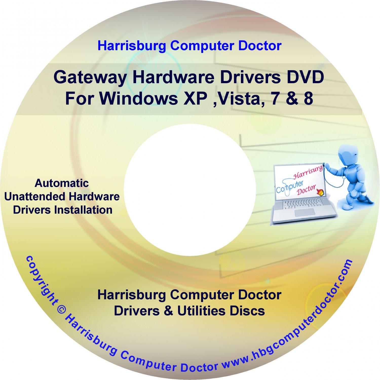 Gateway 6518GZ Drivers DVD For Windows, XP, Vista, 7 & 8