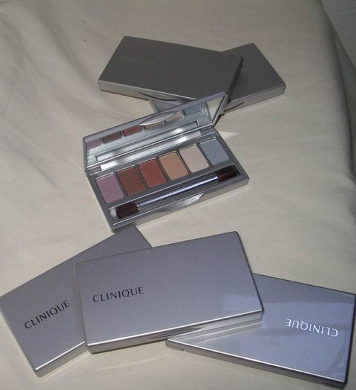 CLINIQUE 6 EYE PALLETTE RARE!!!!
